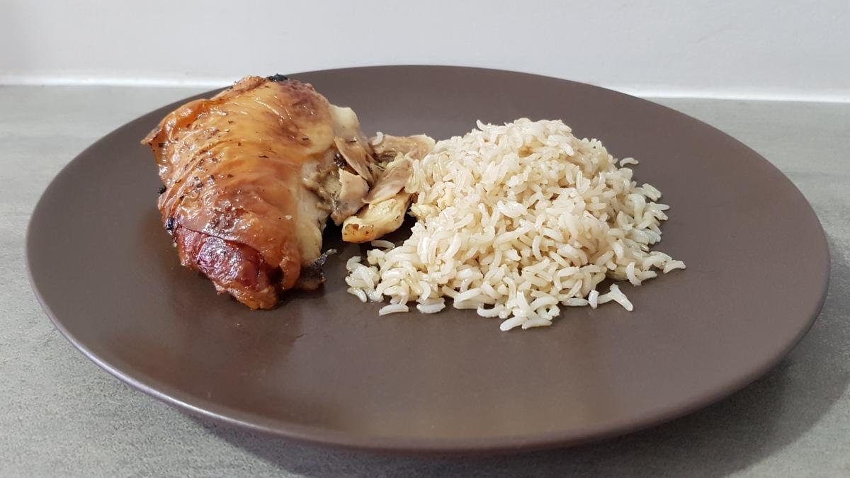 recette chrononutrition - poulet et riz basmati